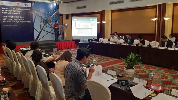 La Suede et le Vietnam cooperent dans le developpement de l'energie hinh anh 1