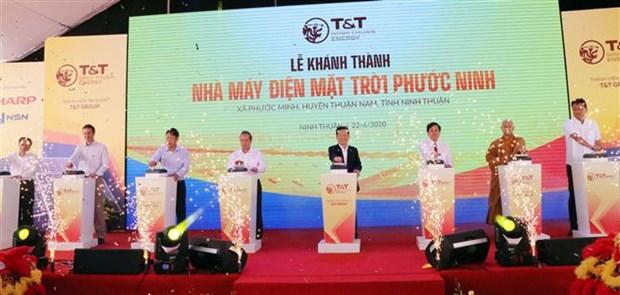 Ninh Thuan se dote d'une nouvelle centrale solaire hinh anh 1