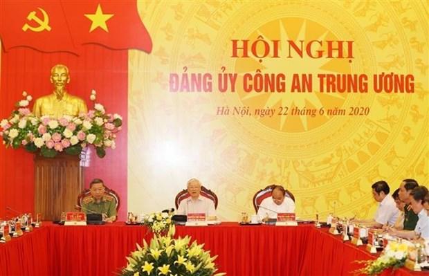 Bien preparer le Congres du Comite central du Parti au sein du ministere de la Securite publique hinh anh 1