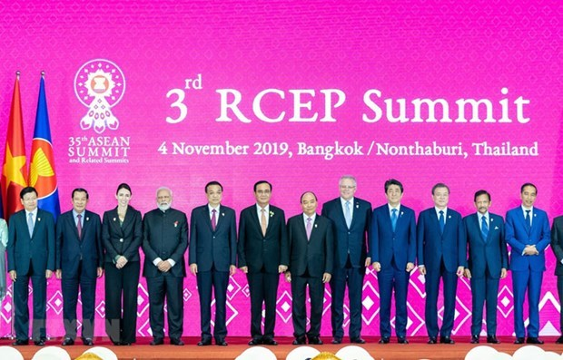 Le Vietnam fait avancer efficacement les negociations sur le RCEP hinh anh 1