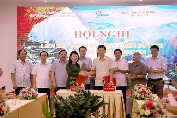 Quang Binh et Thai Nguyen renforcent leur cooperation dans le tourisme hinh anh 1