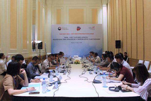 Le Vietnam et la Republique de Coree cherchent a approfondir leur partenariat strategique hinh anh 1