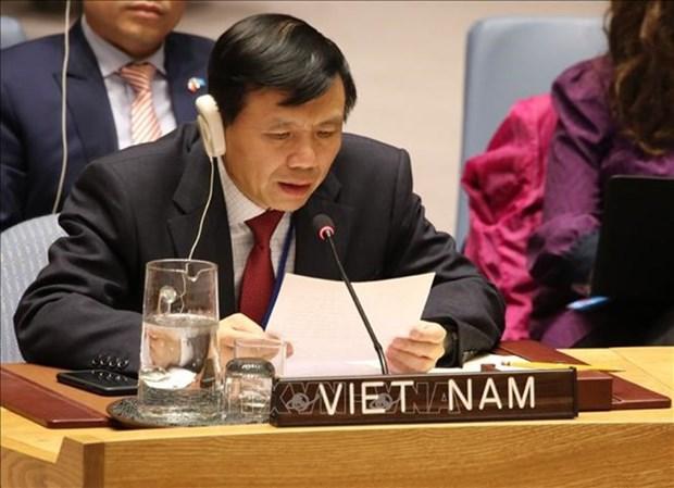 Libye-ONU: Le Vietnam appelle a reprendre les negociations de paix hinh anh 1