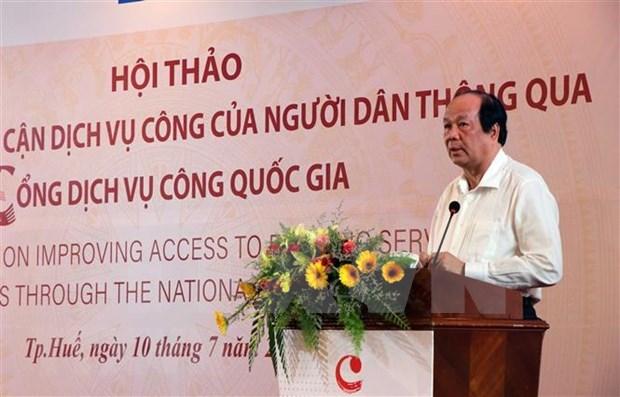 Seminaire sur la promotion de l'acces aux services publics en ligne au Vietnam hinh anh 1