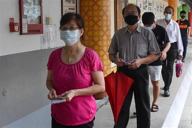 Singapour : les elections generales commencent aujourd'hui hinh anh 1