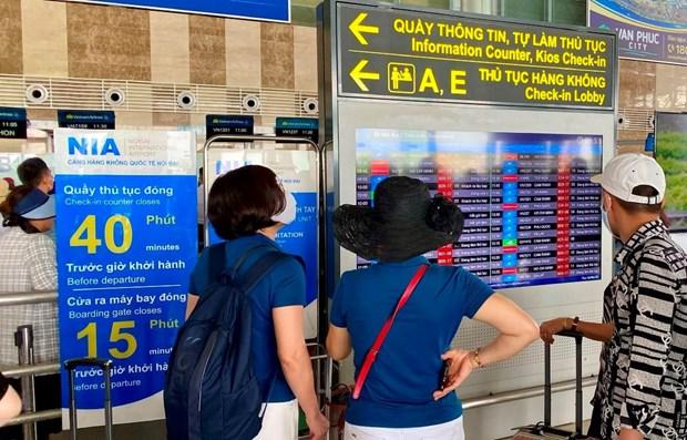 L'aeroport international de Noi Bai supprime les annonces par haut-parleurs hinh anh 1