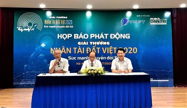 TI : Lancement des prix Talents du Vietnam 2020 a Hanoi hinh anh 1