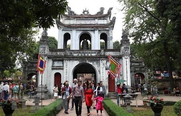 Le nombre de touristes a Hanoi en forte hausse en juillet hinh anh 1