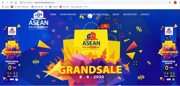 Promotions speciales a offrir lors de la journee de vente en ligne de l'ASEAN hinh anh 1