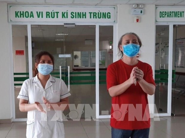 Kien Giang : le cas N° 409 de COVID-19 est gueri hinh anh 1