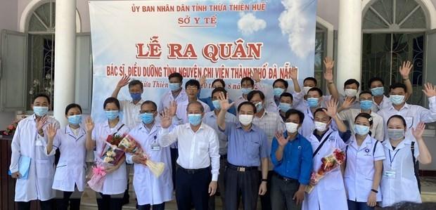Thua Thien-Hue se tient cote a cote avec Da Nang dans la lutte contre le COVID-19 hinh anh 1