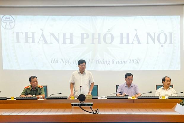 COVID-19 : Hanoi met en garde contre le risque de contamination intracommunautaire hinh anh 1