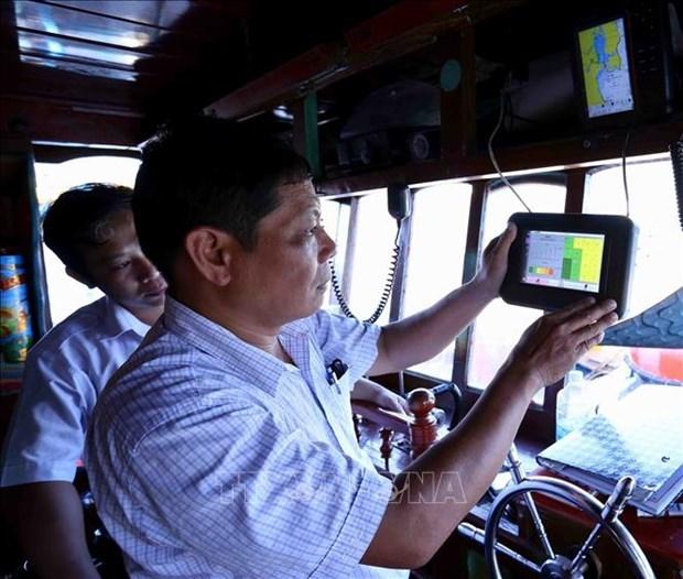 Peche INN : Binh Dinh acheve l'installation des dispositifs de surveillance des bateaux hinh anh 1