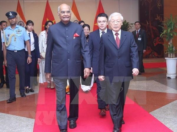Felicitations a l'occasion du 73e anniversaire de la journee de l'independance de l'Inde hinh anh 1