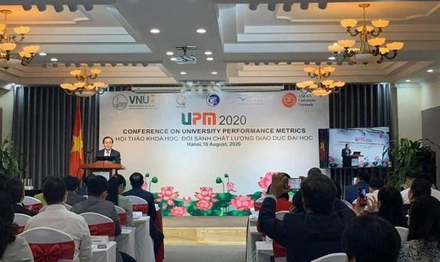 Le Vietnam presente ses propres indicateurs de performance universitaire hinh anh 1