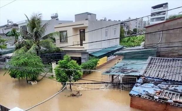 Des crues et pluies torrentielles causent de grandes pertes dans des localites du Nord hinh anh 1