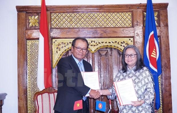 Le Vietnam recoit la presidence tournante du Comite de l'ASEAN en Republique tcheque hinh anh 1