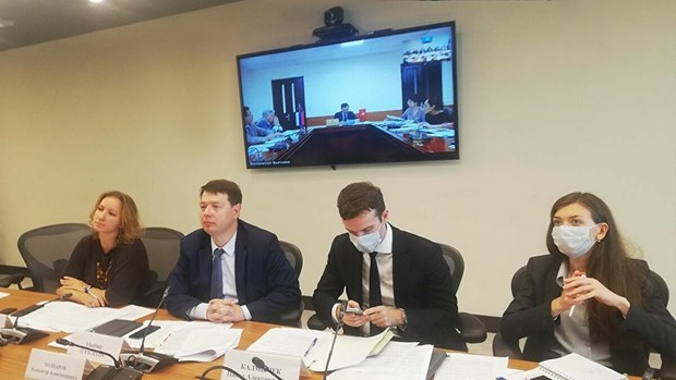 Le Vietnam et la Russie discutent des projets en priorite au milieu du COVID-19 hinh anh 1