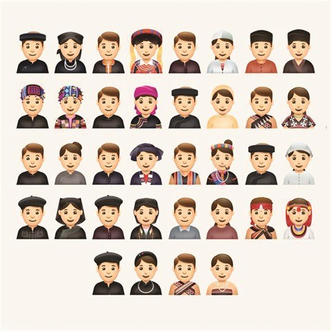 Des emojis pour presenter le Vietnam hinh anh 1