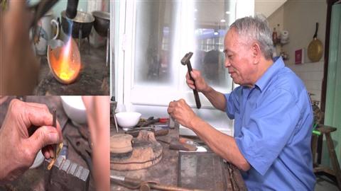 Un artisanat en or se perpetue a Quang Ninh hinh anh 1