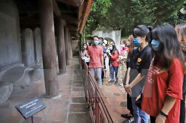 Hanoi table sur de 35 a 39 millions de touristes d'ici 2025 hinh anh 1