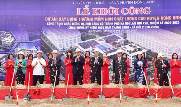 Infrastructures : Hanoi met en chantier trois projets d'un total de plus de 1.200 milliards de dongs hinh anh 1