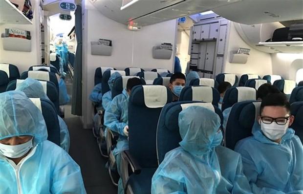 COVID-19 : pres de 350 citoyens vietnamiens rapatries d'Australie et de Nouvelle-Zelande hinh anh 1