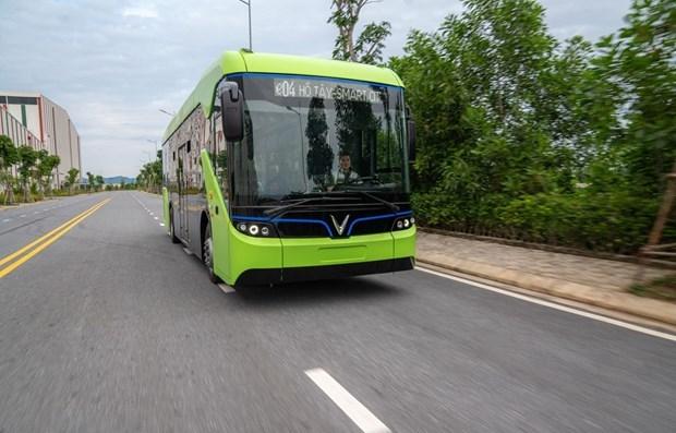 Premier modele de bus electrique teste au Vietnam hinh anh 1