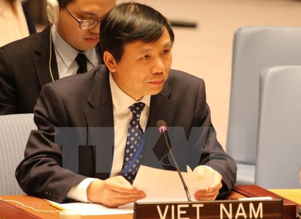 ONU: Le Vietnam s'engage a promouvoir l'etat de droit aux niveaux national et international hinh anh 1