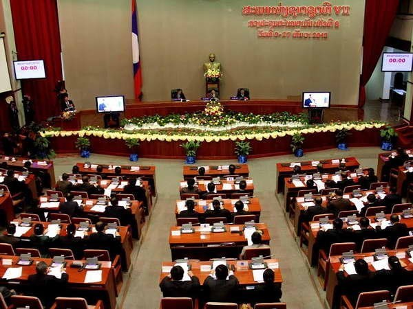 Laos : Ouverture de la 10e session de l'Assemblee nationale hinh anh 1