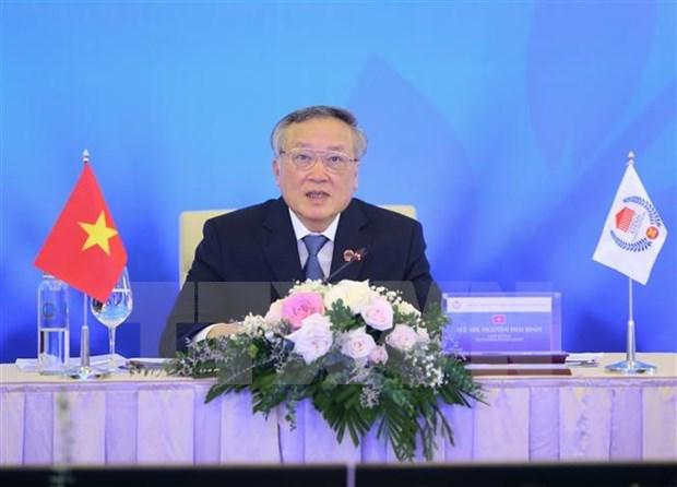 Ouverture de la 8e reunion du Conseil des chefs de la Justice de l'ASEAN hinh anh 1