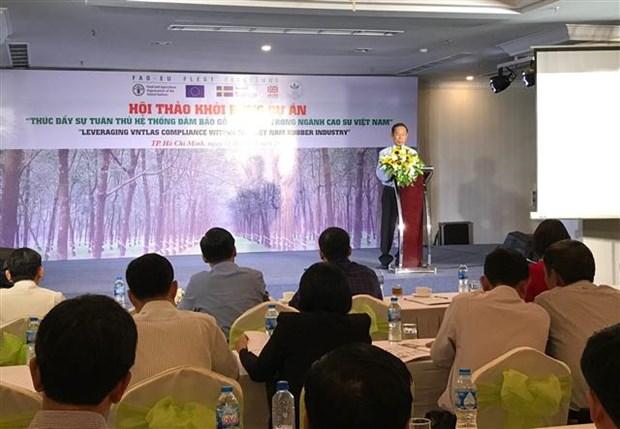 Caoutchouc : Promouvoir la conformite du systeme de garantie de la legalite du bois hinh anh 1