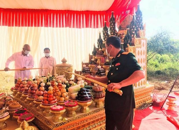 Mise en chantier d'un monument de l'amitie Vietnam-Cambodge hinh anh 1