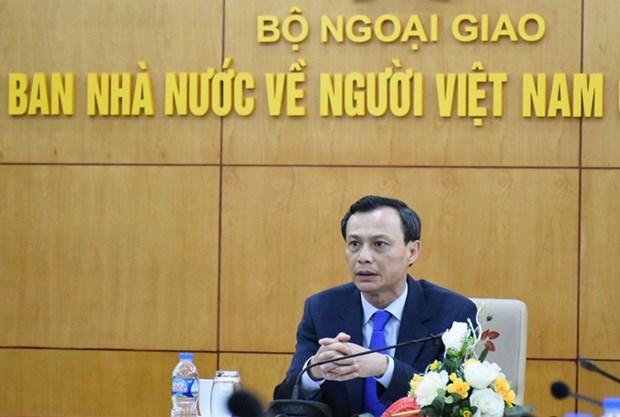 Promouvoir l'efficacite du travail lie aux Viet Kieu hinh anh 1