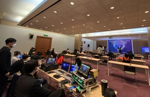 Webinaire sur les TIC au Vietnam et en Republique de Coree hinh anh 1