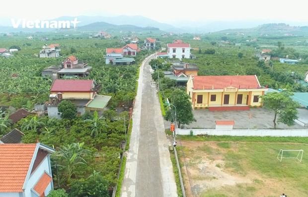 Quang Ninh: l'edification de la nouvelle ruralite, mission accomplie avant terme hinh anh 1