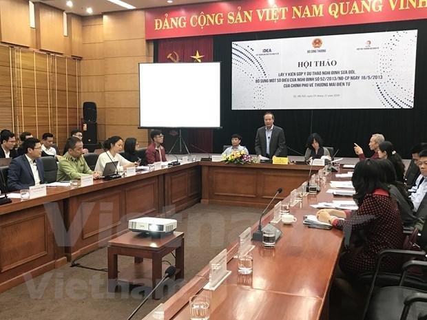 Le Vietnam cree un environnement de concurrence equitable dans l'e-commerce hinh anh 1