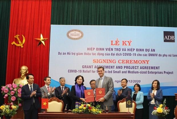 BAD: 5 millions de dollars aux PME appartenant a des femmes au Vietnam hinh anh 1