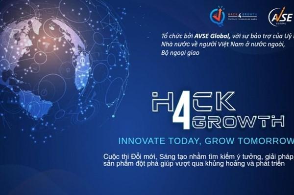 Innovation : Remise des prix du concours Hack4growth 2020 hinh anh 1