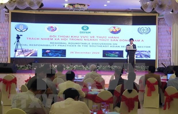 Dialogue sur la responsabilite sociale dans le secteur de la peche en Asie du Sud-Est hinh anh 1