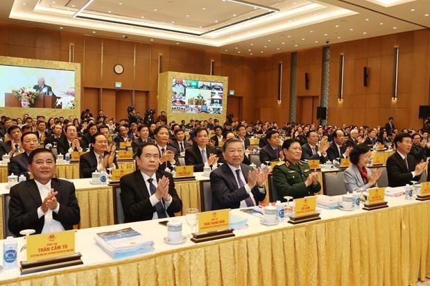 Nguyen Phu Trong exhorte a promouvoir le Renouveau et la mise en œuvre des taches fixees hinh anh 3
