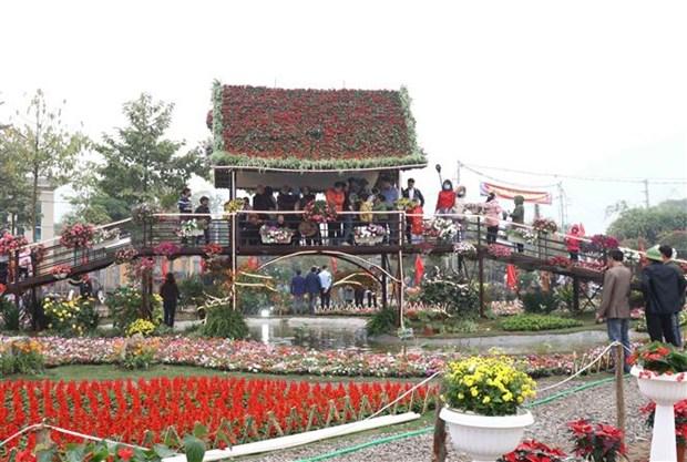 La 2e Fete de la plus grande region floricole du Nord debute hinh anh 1