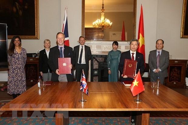 L'UKVFTA contribuera a la promotion du partenariat strategique Vietnam-Royaume-Uni hinh anh 1