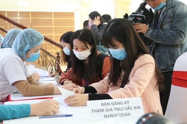 COVID-19 : un deuxieme vaccin developpe par le Vietnam sera teste sur l'homme hinh anh 1