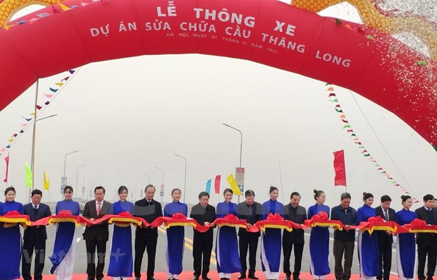 Ouverture au trafic de deux ponts importants a Hanoi et Ho Chi Minh-Ville hinh anh 1