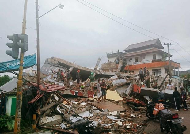 Indonesie : au moins sept morts et des centaines blesses.dans un seisme sur l'ile de Celebes hinh anh 1