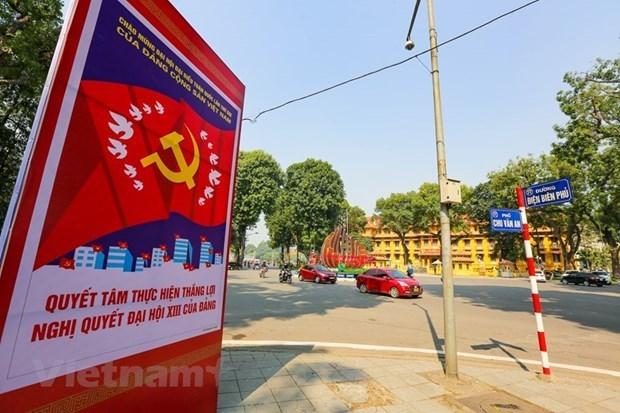 Les Vietnamiens en Allemagne expriment leur confiance en la direction du Parti hinh anh 1