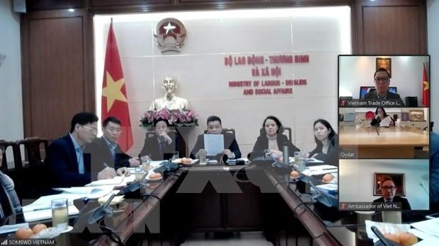 Travail : demarrage des negociations sur un accord de cooperation Vietnam-Israel hinh anh 1