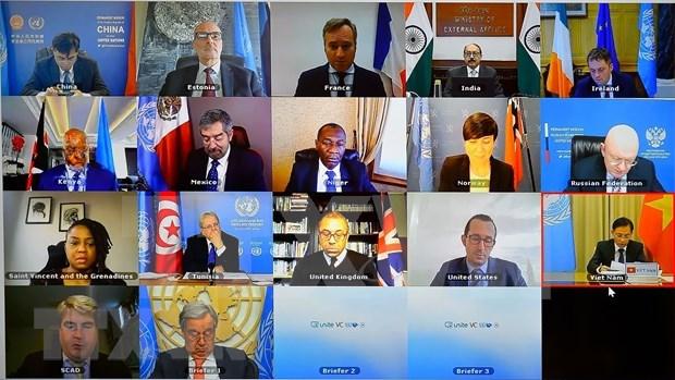Proteger les interets nationaux, contribuer au maintien de la paix et de la securite internationale hinh anh 2