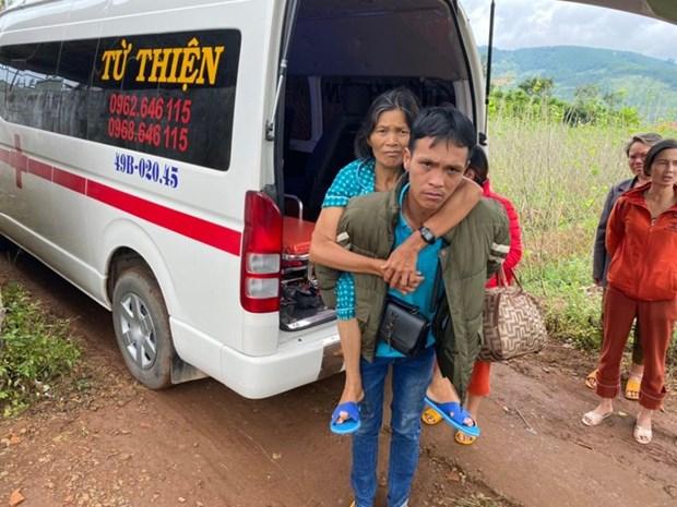 Transporter gratuitement les patients demunis hinh anh 2